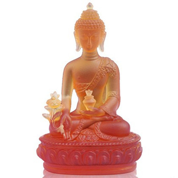 Греко буддийский домашний офис талисман эффективная защита семьи # Nepal, Тибет, Индия Медицина статуя Будды R56