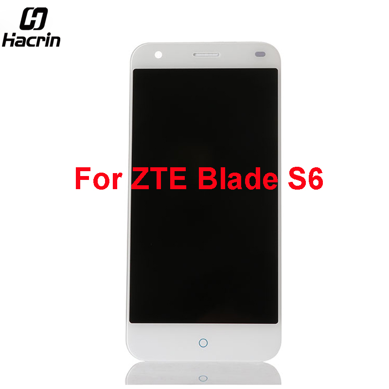 hacrin For ZTE Blade S6 lcd screen High Quality Lcd display +Touch Screen 1280x720 HD 5.0inch replacement for ZTE Blade S6