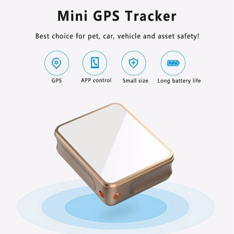 Portable Mini GPS tracker Car Bike Baggage Real-time Positioning Tracker Vibration Alarm Anti-theft Loss WiF + GPS Locator K8