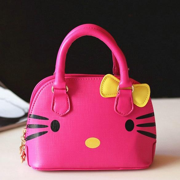 13684a344b Free shipping wholesale 2014 new designers mini cute bag children hello  kitty handbag kids tote girls handbag women mini bag