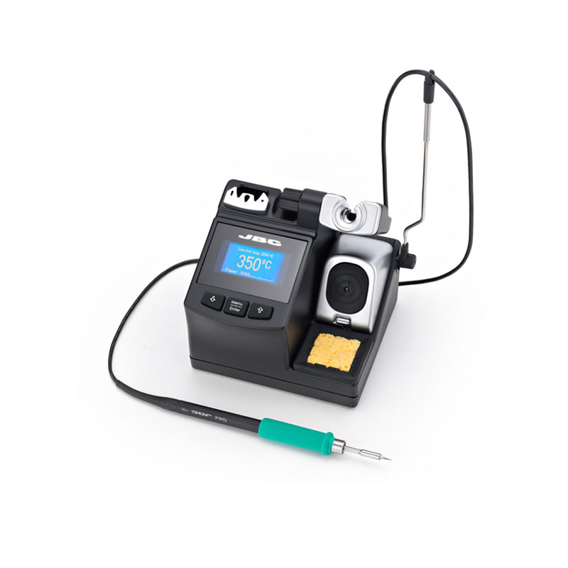 JBC mobile repair phoe CD-2BHE soldering station repairing found IC micro station with t210-A solder holder