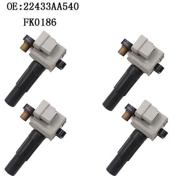 4 PCS Ignition Coil For Subaru Baja FOR ESTER IMPREZA Legacy 2.5 22433AA540 22433-AA540 22433AA480 22433-AA480 22433-AA640