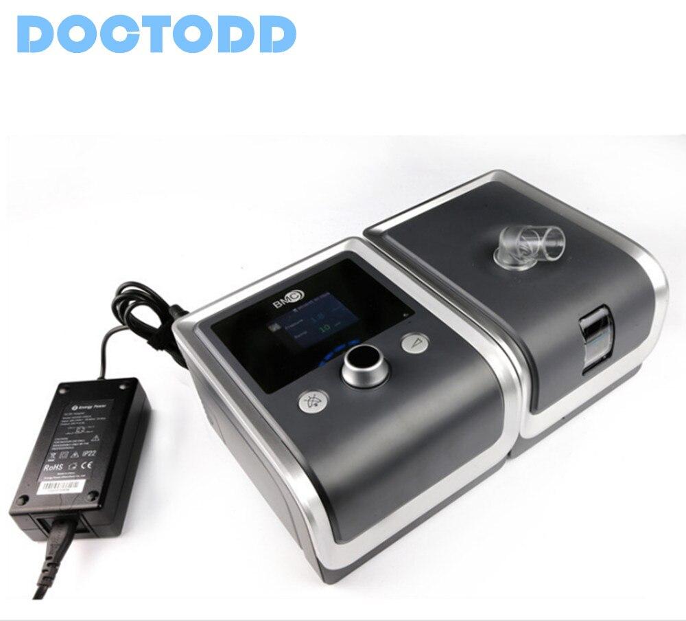 Doctodd GII CPAP 4 جيجابايت E-20C-O مكافحة الشخير CPAP التنفس ل توقف التنفس  أثناء النوم OSAHS OSAS الشخير المستخدم W/قناع غطاء للرأس الحوض حقيبة - w586