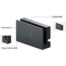 Moyeu dorigine de Station de Dock de chargeur de HDMI de remplacement pour le commutateur NS NX