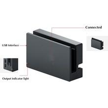 Yedek Orijinal HDMI şarj doku Istasyonu Hub Için Nintendo Anahtarı NS NX Şarj Cradle Oyun Tutucu Aksesuarları