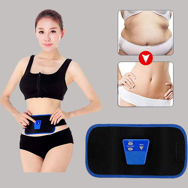 5a5a79e5ea Arm Leg Abdominal Waist Massage Fitness Exercise Belt Body Vibration  Slimming Machine Belly Fat Loss Massage