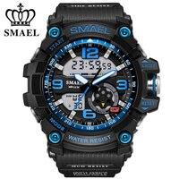 Digitale Uhren Männer Militär sport 50M Wasserdicht S Shock Quarz große zifferblatt stunden LED Leucht G Stil Armbanduhr 2018 mode