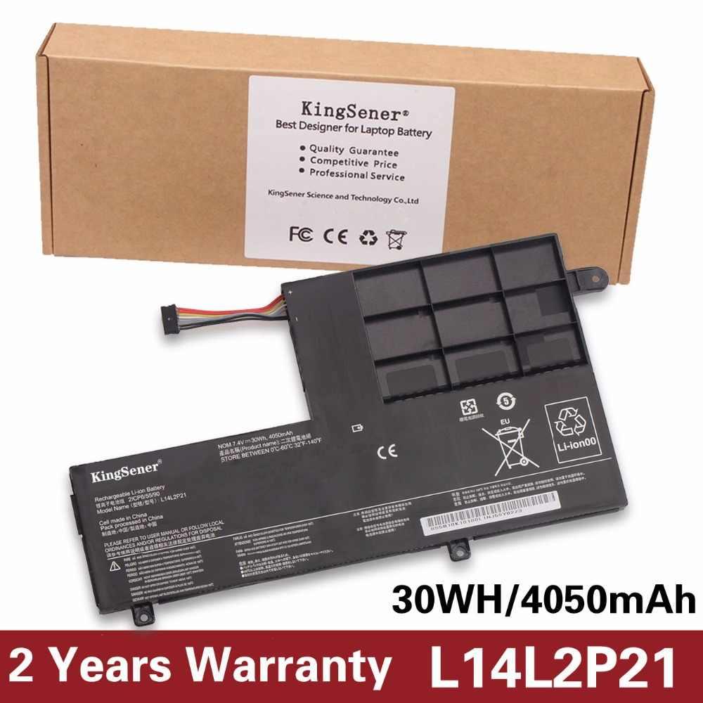 Kingsener L14L2P21 ноутбука Батарея для Lenovo YOGA 500-14ISK S41-70 S41-75 S41-70AM-IFI S41-35 L14M2P21 2ICP6/54/90 7.4 В 30WH