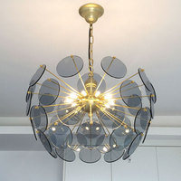Moderno led lustre nordic suspenso lâmpada loft deco luminárias de suspensão sala estar quarto pendurado luzes