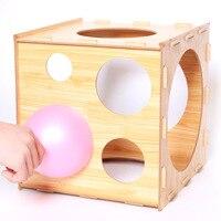 Holes Balloon Box Measurement Home Equipment Tool Supplies Birthday Wedding Parties Decoration 12 inch