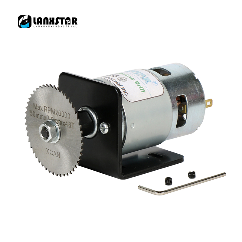 Buy 50mm disc double bearings 775 motor for High torque micro motor