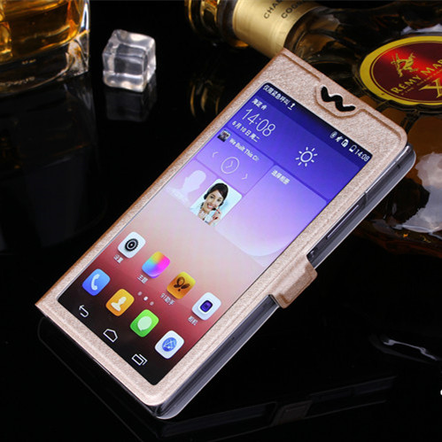 With Window Case For Huawei P8 P9 P10 P20 Lite 2017 Pro Luxury Transparent Flip Cover For Honor 8 9 10 Lite honor10 Phone Case in Flip Cases from Cellphones Telecommunications