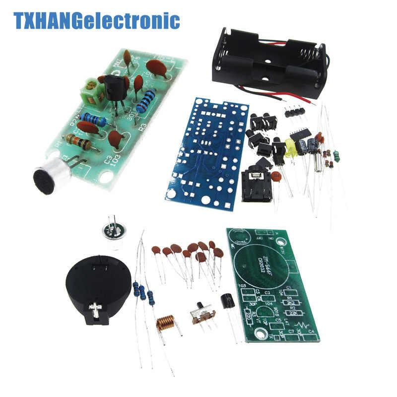FM ラジオ受信モジュール周波数変調ワイヤレスマイク PCB DIY キット