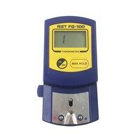 FG-100 Цифровой паяльник наконечники термометр, датчик температуры для паяльника Советы + 5 шт. бессвинцовые датчики 0-700C