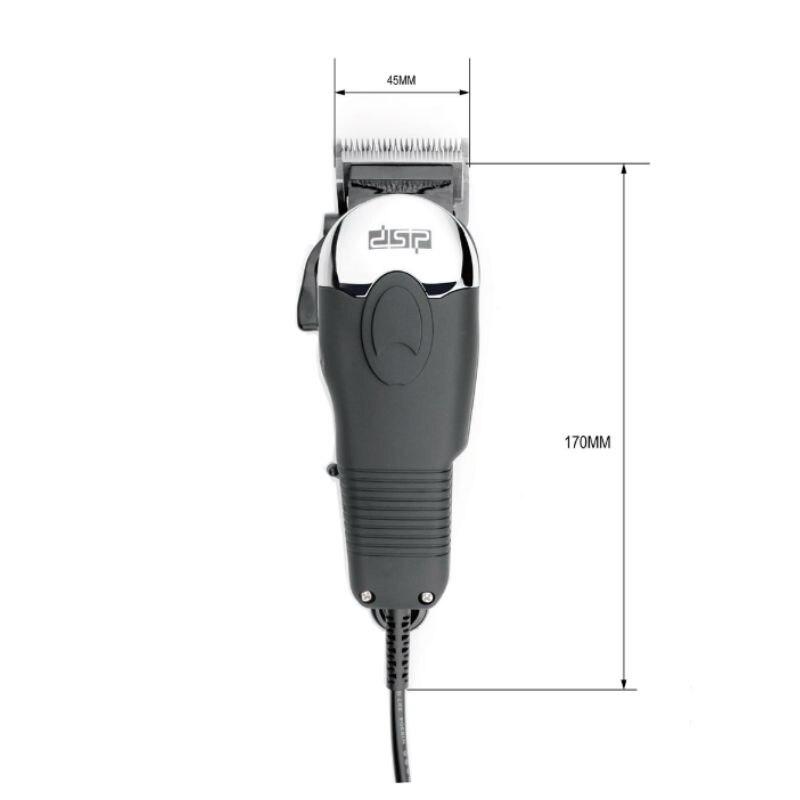 DSP professionnel électrique enfants coupe-cheveux hommes barbe tondeuse rasoir rasoir sans fil réglable Clipper 220-240 V 50 HZ 10 W - 6