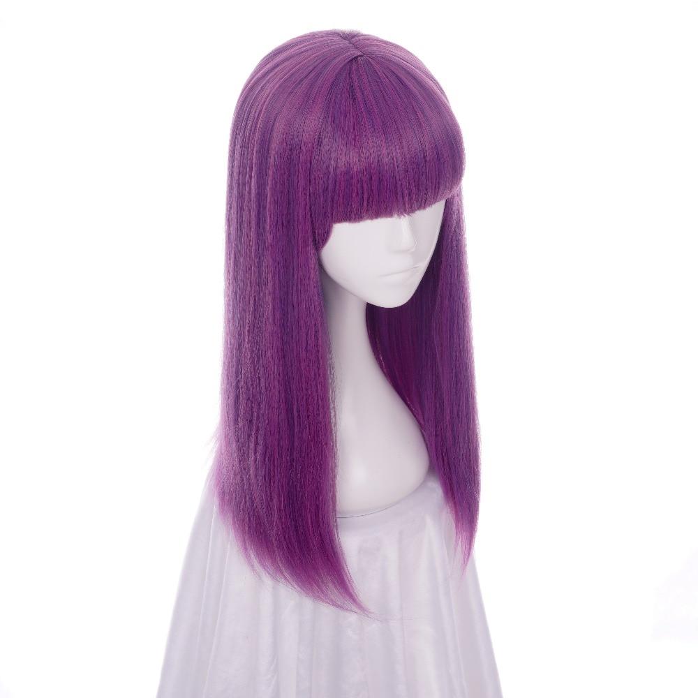 ccutoo Απογόνους 2 Μικρές 60 εκατοστά Μωβ - Συνθετικά μαλλιά - Φωτογραφία 3