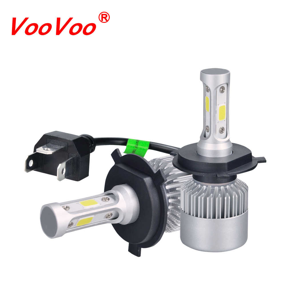 Fog Led Moto Headlight H7 H4 LED H8 H11 HB3 9005 HB4 9006 H1 H3 9012 H13 9004 72W 8000lm Motorcycle Bulb Headlamp 6000K Light