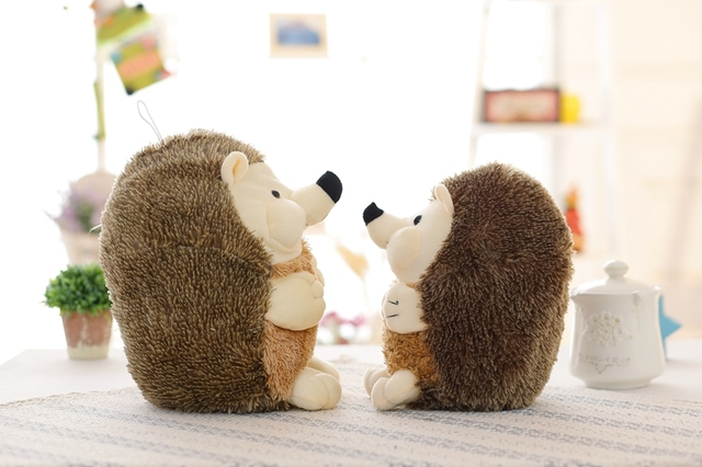 1pcs 30cm Toys for Children Kid gift Cute Lovely Soft Hedgehog Animal Doll Stuffed Plush Toy Child Kids Home Wedding Party