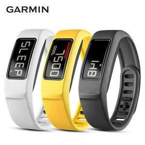 Оригинальные Смарт-часы Garmin Vivofit 2 для фитнеса для мужчин и женщин, шагомер, пульсометр IP67, спортивные часы для плавания и бега