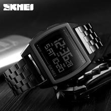 SKMEI Fashion Relogio Masculino Mens Watches Top Brand Luxury Clock Mens Watches Digital Waterproof Sport Watch Man Wristwatch