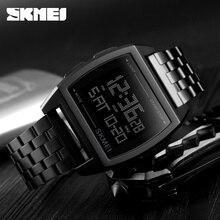 ساعات رجالي ماركة SKMEI ساعة رجالية فاخرة رقمية مقاومة للماء ساعة يد رياضية للرجال