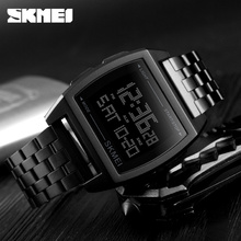Skmei relógio masculino, moda relógio masculino relógios de marca de luxo top relógios para homens digital à prova d água relógio do esporte homem relógio de pulso