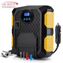 цена на Digital Tire Inflator DC 12 Volt Car Portable Air Compressor Pump 150 PSI Car Air Compressor