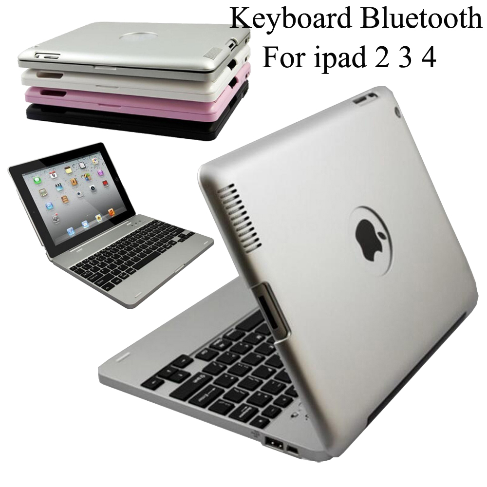 Wireless Bluetooth Keyboard For Apple iPad 2 3 4 ipad 3 Case Cover Protective Portable Keyboard