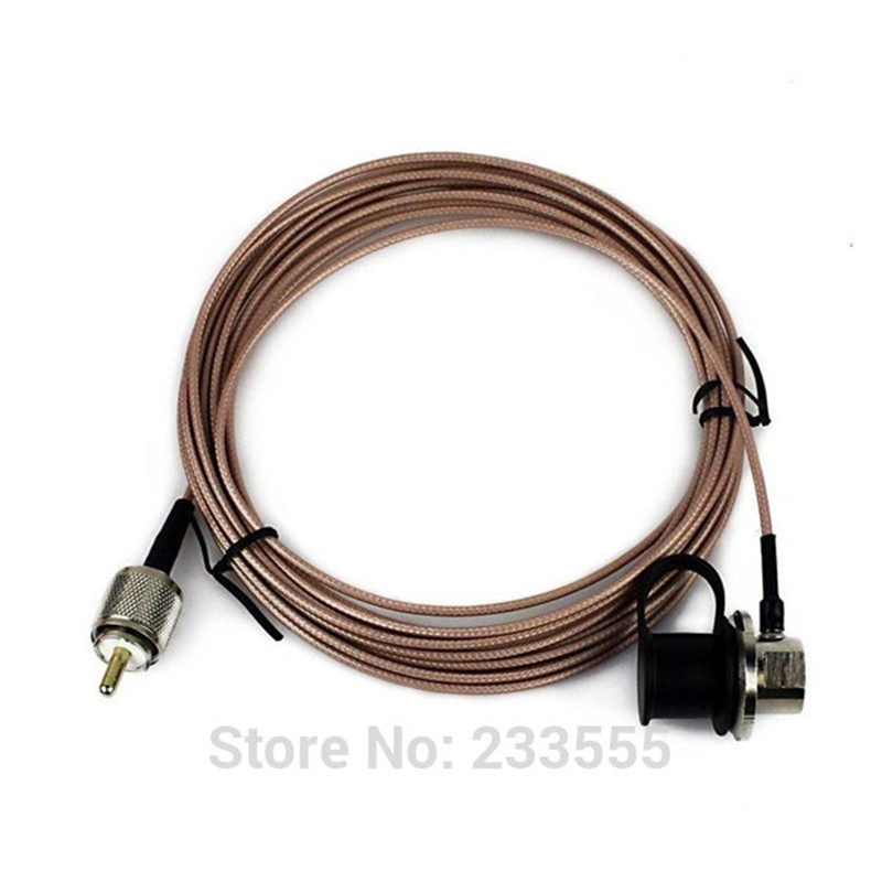 100% New NAGOYA RC-ECH-316 5 Meter Cover Extension Cable for Walkie <font><b>Talkie</b></font> Mobile Antenna