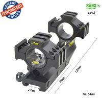 1pc L013 30mm/25mm  Ring 20mm/21mm Dovetail Rail Scope Mount fit for Rifle Scope Hunting