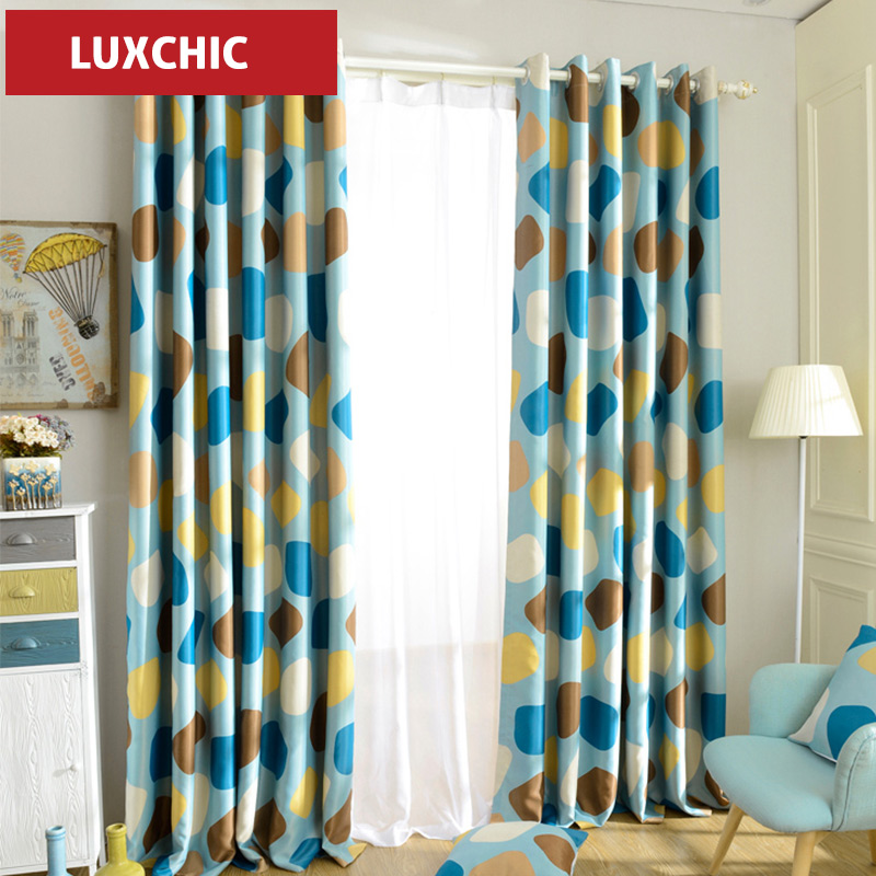 1PC Grommet Top Modern Curtains Endless Printed Thick Blackout Curtains for  Living Room Window Curtains for the Bedroom Blue Red. Online Get Cheap Blackout Curtains Red  Aliexpress com   Alibaba Group