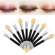 Double Head Eye Shadow Applicator Makeup Tool Sponge Stick Eye Shadow Stick Manicure Nail Art Tool Makeup Stick N40DH все цены