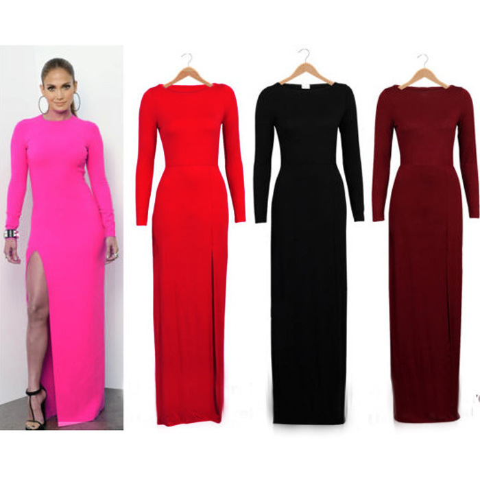 Long Sleeve Maxi Dresses On Sale