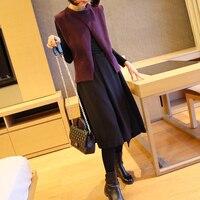 Femmes Sans Manches en tricot gilet pour correspondre à court d'hiver femme Coréenne slim Chandail Gilet tricot Veste