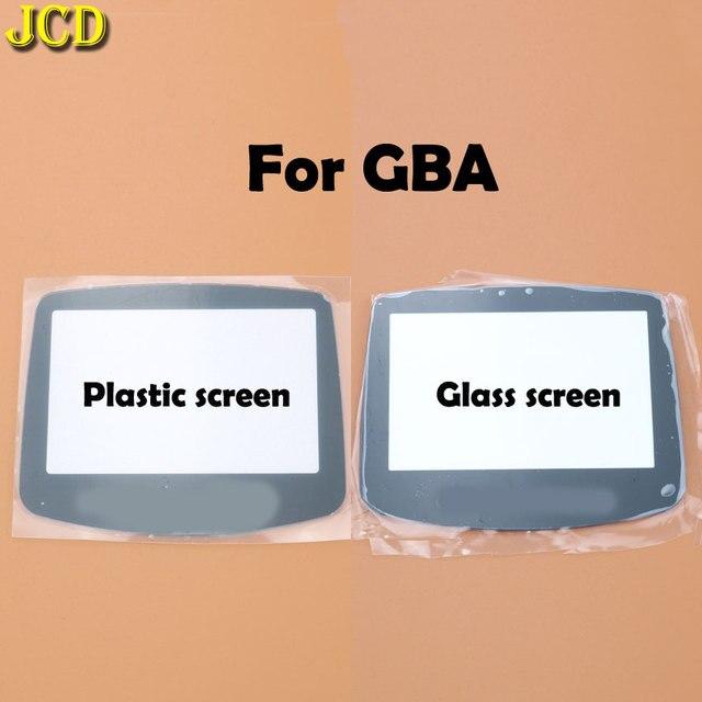 JCD 1 個プラスチックガラススクリーンのための GBA ゲームボーイアドバンス用レンズ W/ adhensive