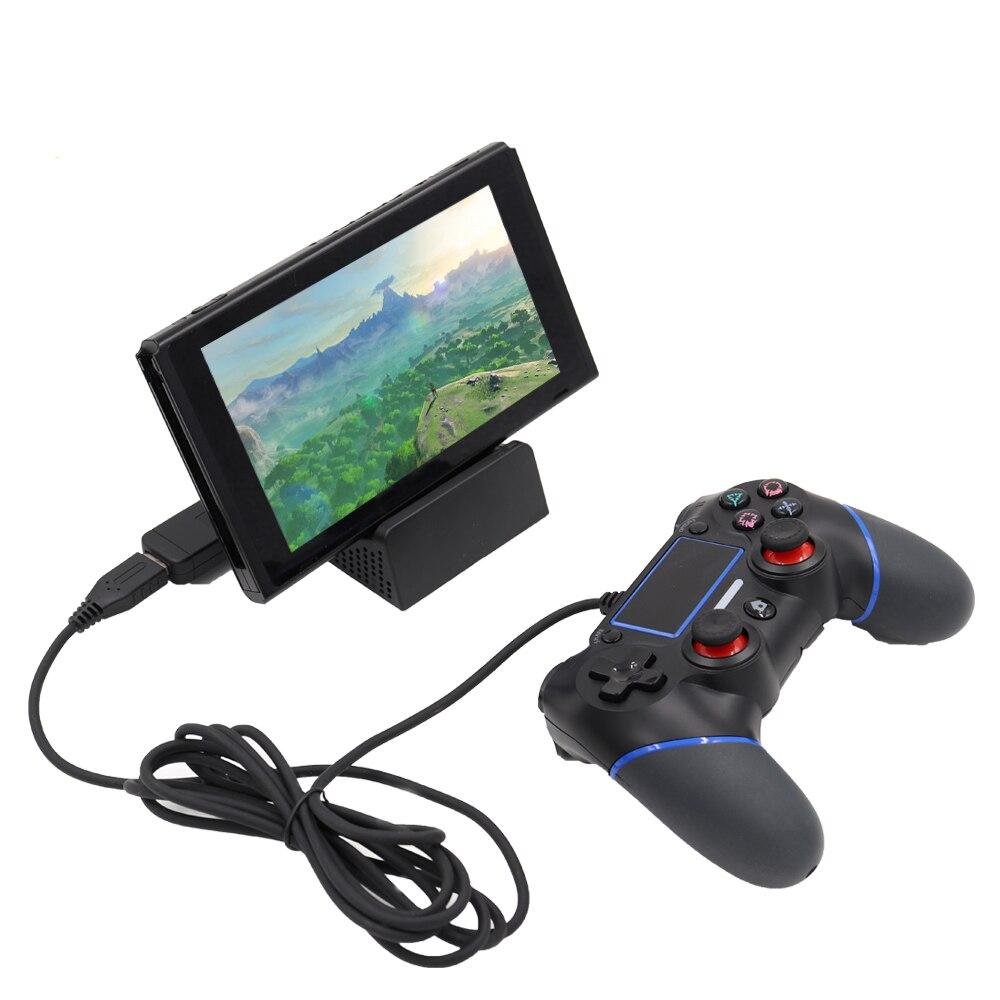 5 шт. для/PS3/PC/<font><b>PS4</b></font>/xbox один/WII-U/Беспроводной контроллер <font><b>Bluetooth</b></font> адаптер для nintendo переключатель Gamepad конвертер для PS3/PC