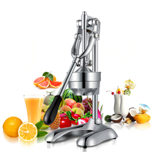 GZZT Stainless Steel Manual Hand Press Juicer Squeezer Orange lemon Citrus Squeezer Fruit Juice Extractor Commercial Household juicer stainless steel juice making machine orange juice extractor juicer squeezer extractor lemon fruit juicer for commercial