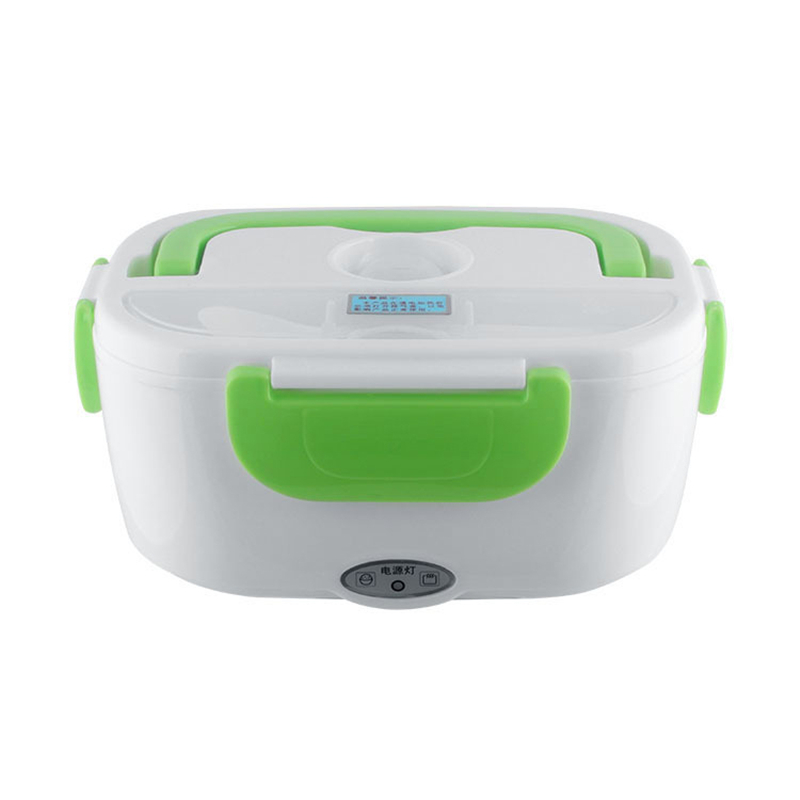 Dropshipping 2018 220 V/110 V 4 tapones lonchera calefacción eléctrica thermos para niños Bento comida calentador comida Caliente 40 W