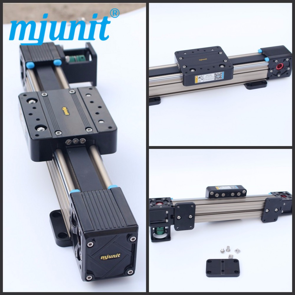 все цены на Mjunit MJ60 Camera Track Guide Linear Guide Rails Belt Drive For Different Kind Of Structure онлайн