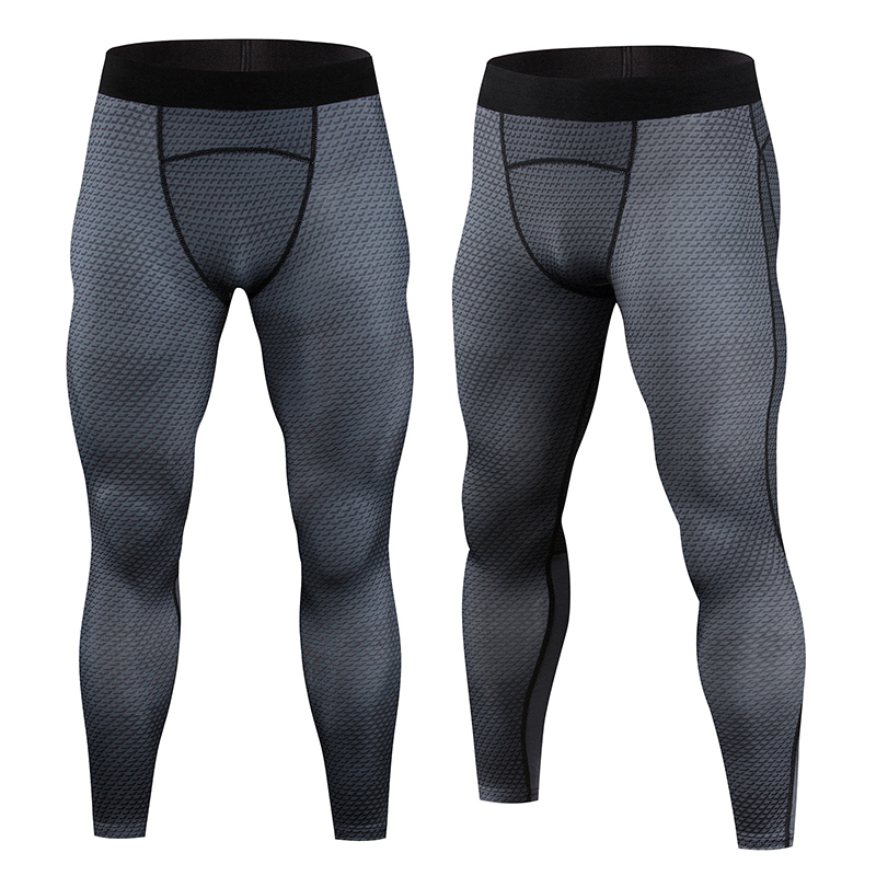 2017 Men Compression Pants Crossfit Tights Casual Bodybuilding Mans Trousers  Fitness Tights Sweatpants Brand Skinny Leggings