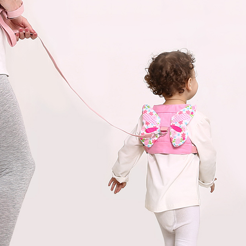 Baby Safety Harness Anti Lost Walk Belt Children Leashes Kid Walking Handle Child Outdoor Play Wristband Baby Walker Safety Care