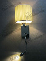 Pierce Wall Sconce 4 Stages Switch Design Color Shape Of Fabric Shade Optional The Lamp Can