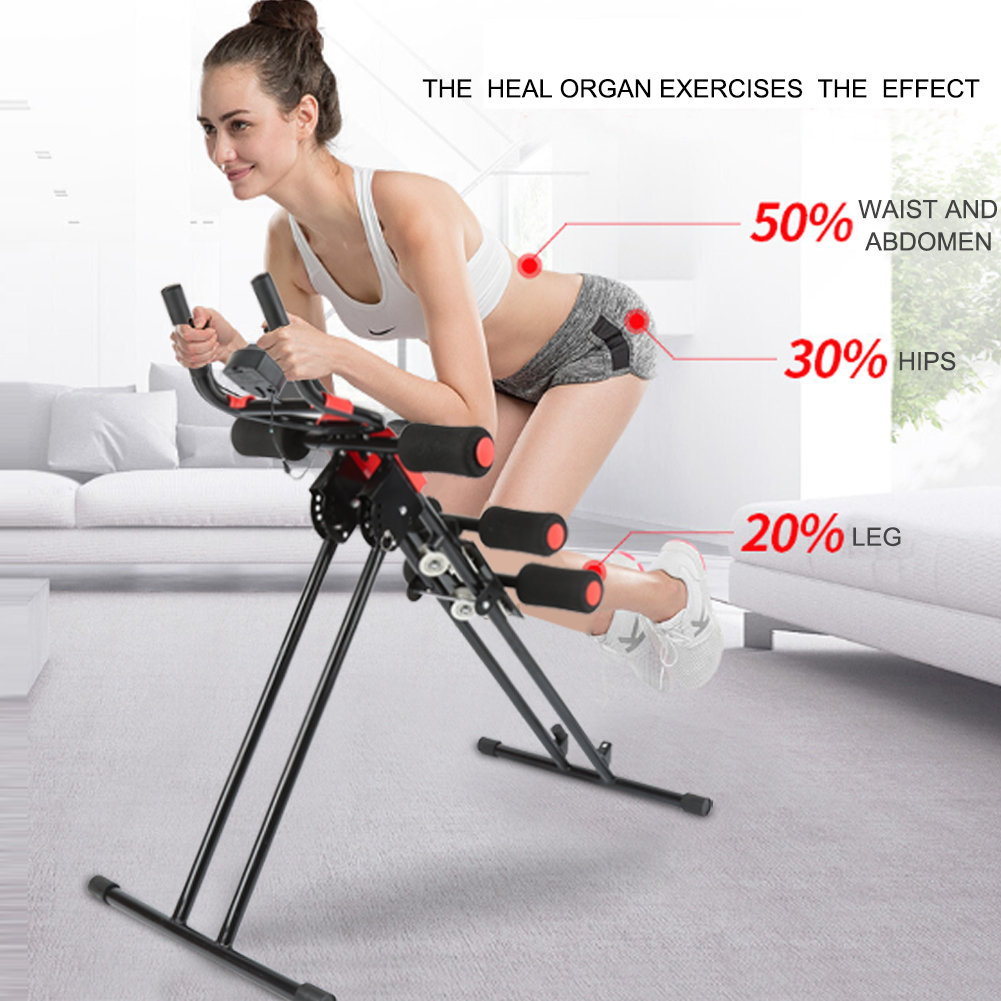 AB Roller Abdominal Training Machine Home Body Fitness Shape Building Device Lose Weight Equipment Smart Gym Exerciser HWC цена