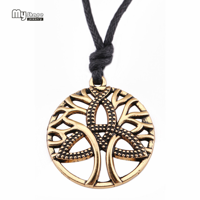 My Shape Tree Of Life Hollow Out Vintage Pendent Irish Celtics