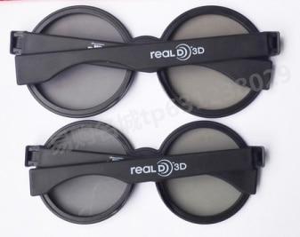 2pcs/box 3D Glasses Polarized Passive Glasses For TCL Samsung SONY reald 3D cinema 3D display general kids Children 3D glasses