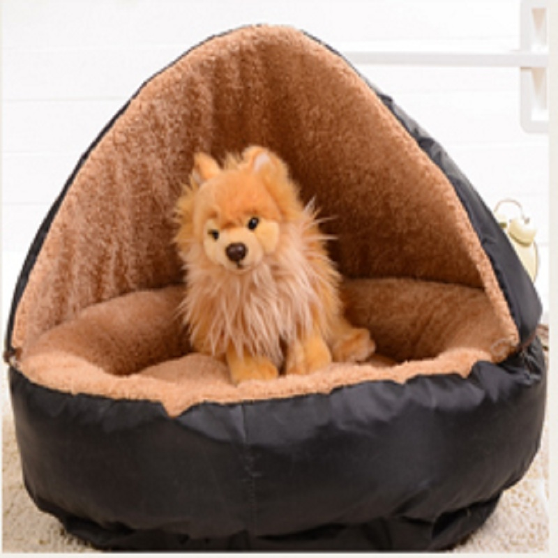 Hottest Warm Cat Bed House Hamburger Bed Disassemblability Windproof