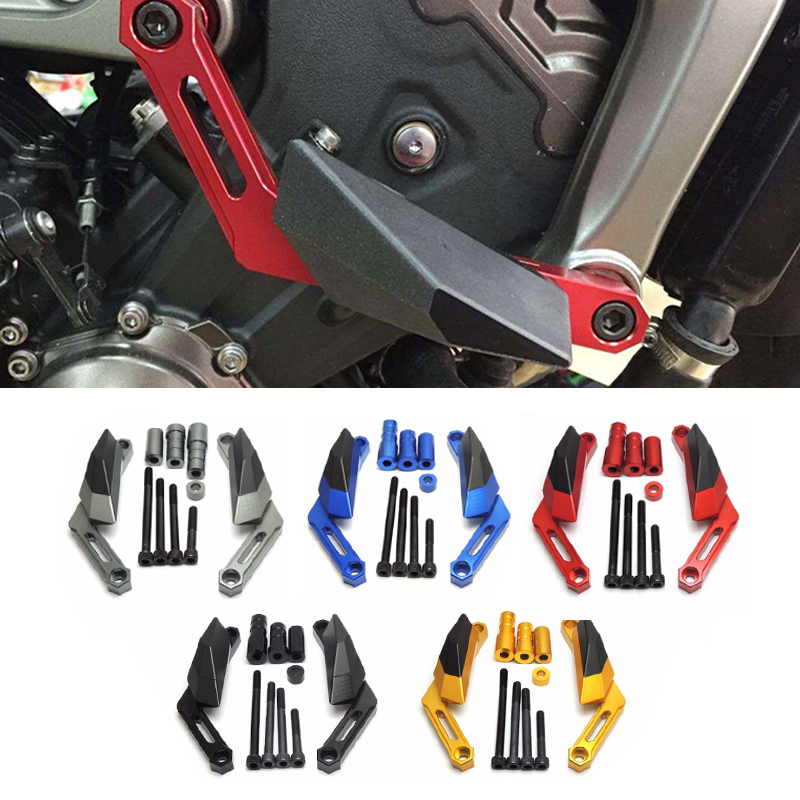 Motorcycle Frame Sliders Crash Falling Protection Anti Crash Protectors For YAMAHA MT-09 MT09 TRACER FZ09   FJ09 2013 2014 2015 crash bar mt 09