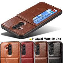 Huawei Mate 20 Lite case TPU soft bumper Luxury stand Magnet Leather case for Huawei Mate 20 X back cover Mate 20 Pro phone case