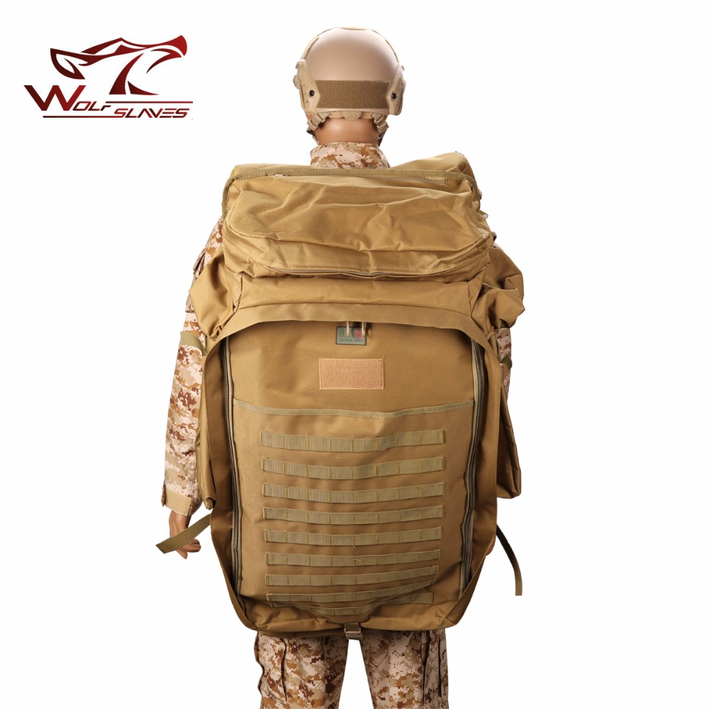 New Arrivals Military Tactical Backpack 100L Plus large Capacity Outdoor Sport Bag Waterproof 1000D Nylon Camping men's Bag new arrival 38l military tactical backpack 500d molle rucksacks outdoor sport camping trekking bag backpacks cl5 0070