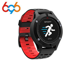 EnohpLX NEW F5 GPS Smart watch Altimeter Barometer Thermometer Bluetooth 4.2 Smartwatch Wearable devices for iOS Android pk KW18
